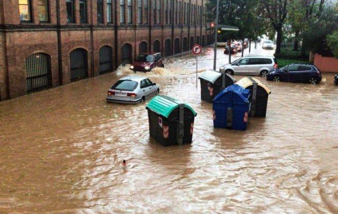 Consecuencias del temporal en Rubí