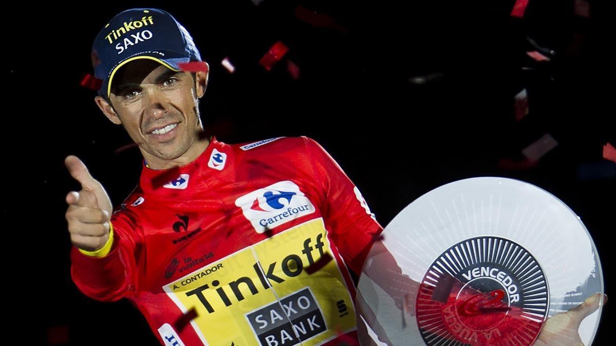 Alberto Contador lucirá el dorsal número 1 en su última Vuelta a España
