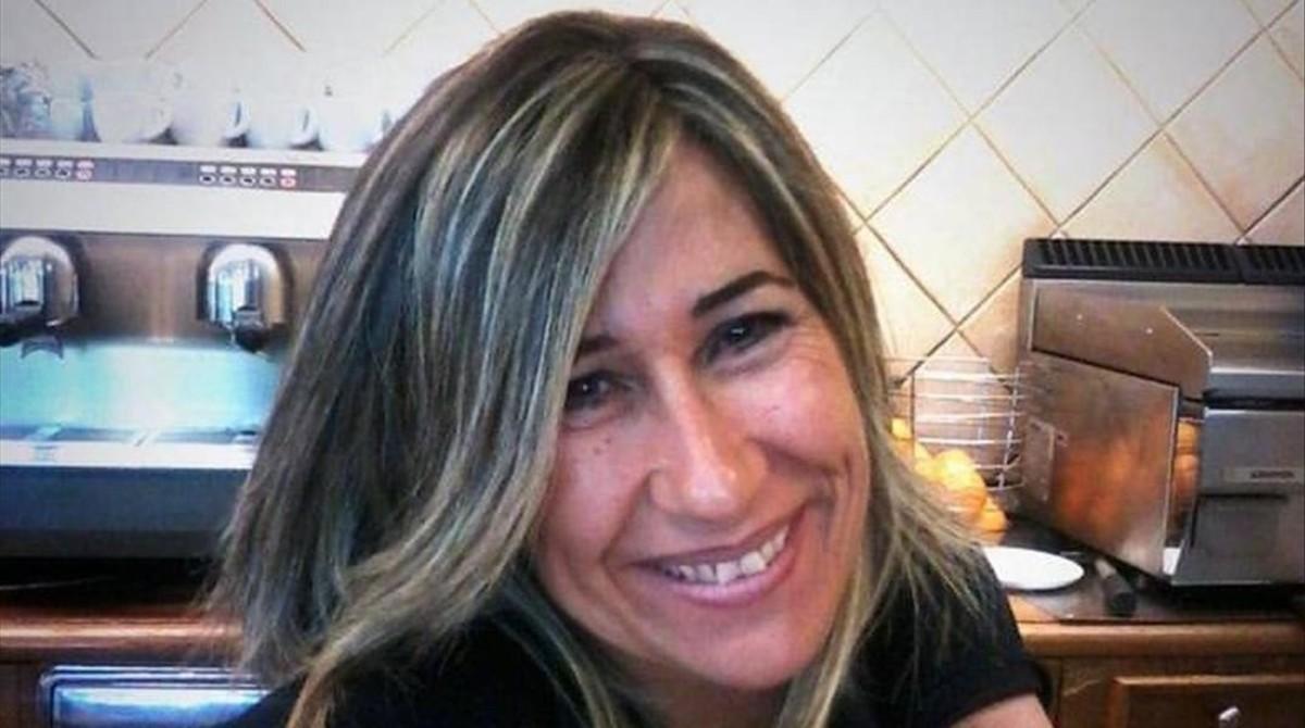 Cristina Beraza, que estaba casada y era madre de dos hijos, en una imagen facilitada por la familia.