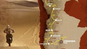 El Dakar vuelve a Sudamérica en enero.