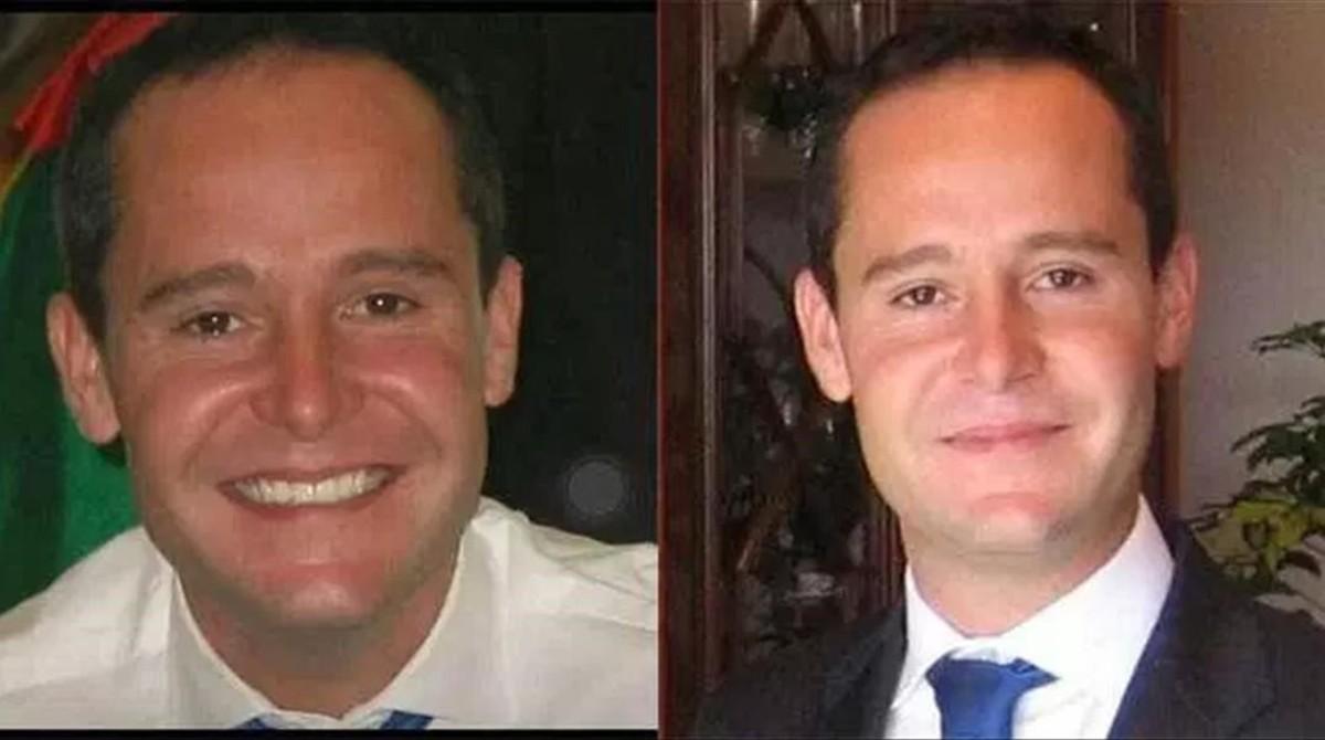 David Bernat, el consultor asesinado en Bangkok, en dos imágenes de archivo.