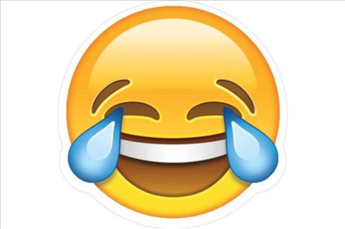 La cara sonriente con lágrimas es el emojimás tuiteado.