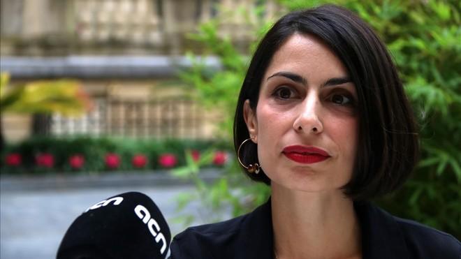 La directora Celia Rico Clavellino, en San Sebastián
