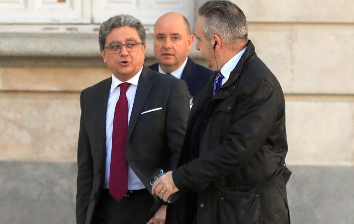 Enric Millo entra a declarar al Supremo, estemartes.