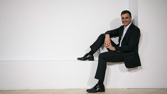 Entrevista con Pedro Sánchez, secretario general del PSOE.