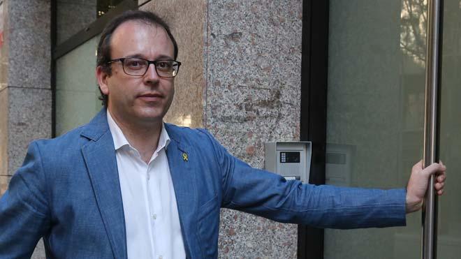 Entrevista al portavoz del PDECat, Marc Solsona.