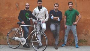 Equipo de Ciclogreen, una de las start-ups sociales presentes en 4YFN.