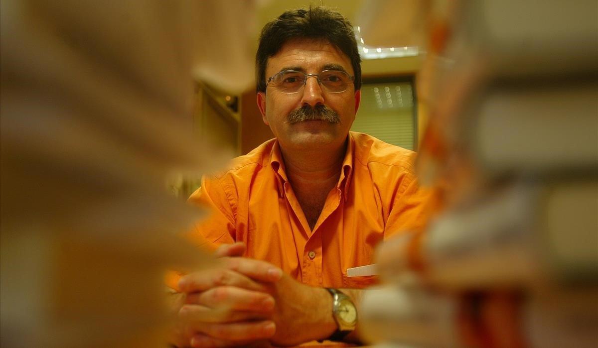 El escritor de novela negra Antonio Lozano.
