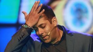 El actor Salman Khan, en una foto de archivo