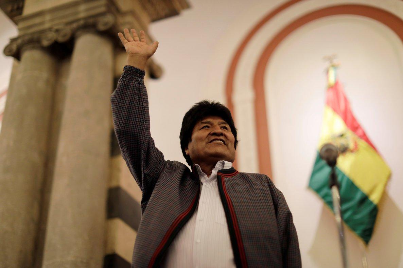 Evo Morales estaría a un paso de reelegirse por cuarta vez como presidente de Bolivia.