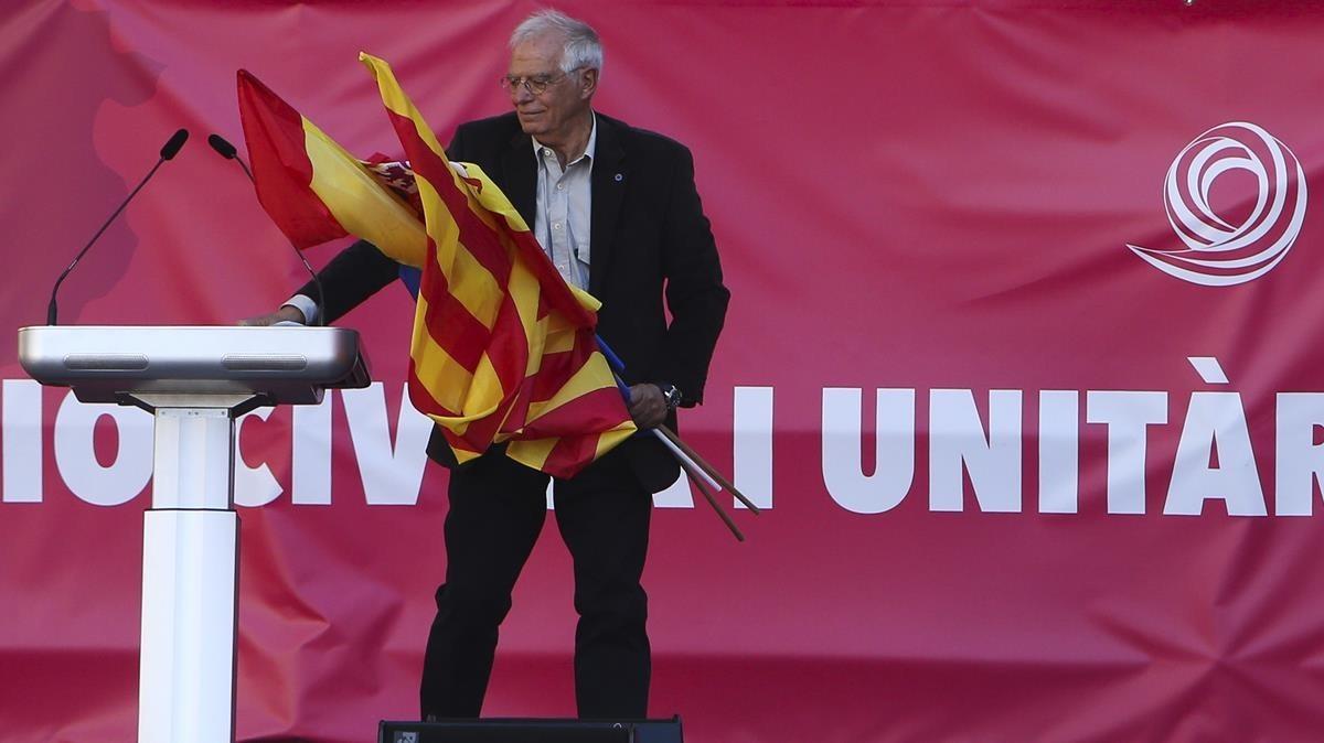 El exministro y expresidente del Parlamento Europeo,Josep Borrell.