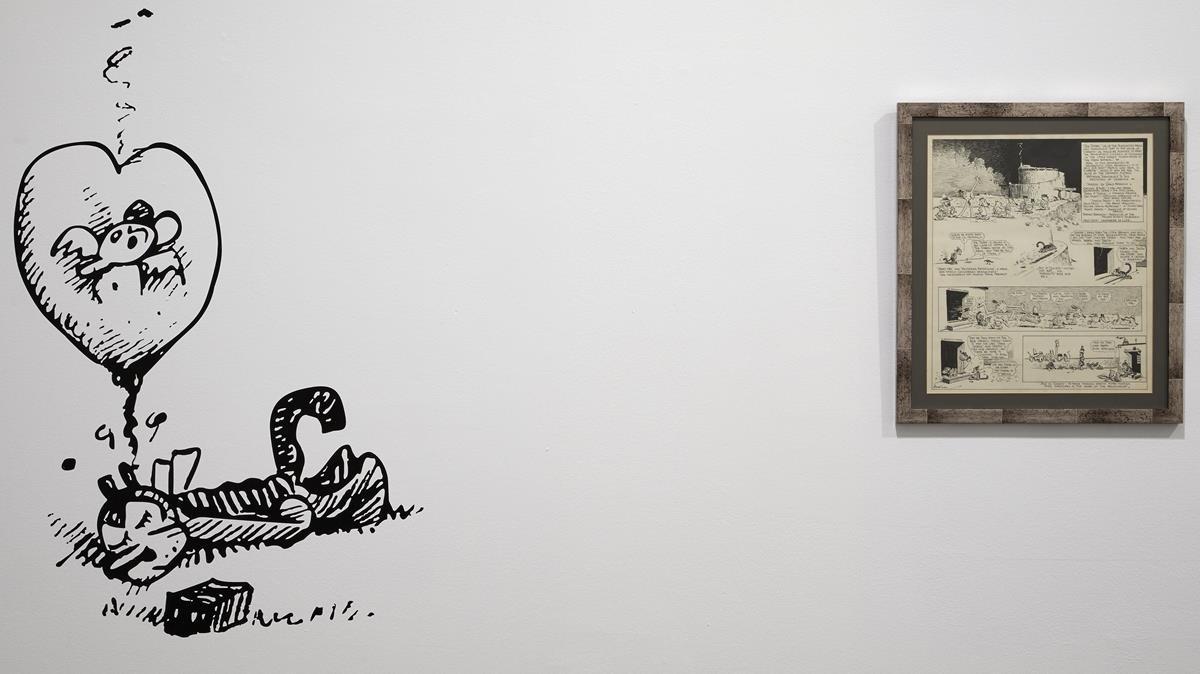 La exposición sobre Herriman y 'Krazy Kat' en el Reina Sofía.