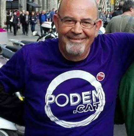 Fernando Gómez, coordinador de distrito en los barrios de Llefià y la Salut.