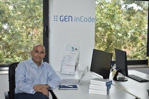 Jordi Puig, cofundador de Gen InCode y máximo responsable en la sede de Terrassa.