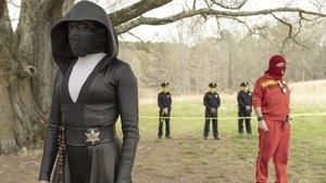 Un fotograma de la serie de HBO 'Watchmen'