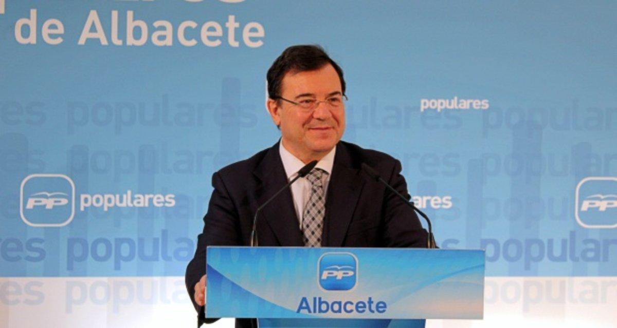 Molinero Hoyos, diputado del Partido Popular por Albacete.