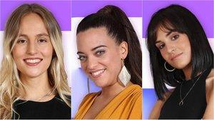 María, Noelia y Natalia, ganadoras de la votación online para la gala de Eurovisión