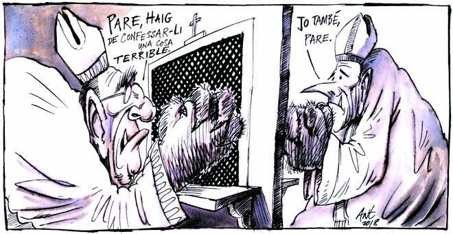 L'humor gràfic d'Anthony Garner del 21 d'agost del 2018