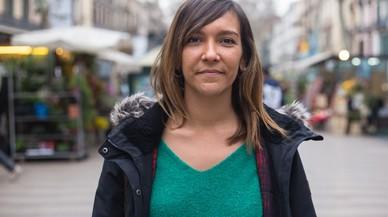 Esperanza Escribano: «Lloré cuando Barcelona gritó 'No tinc por'»