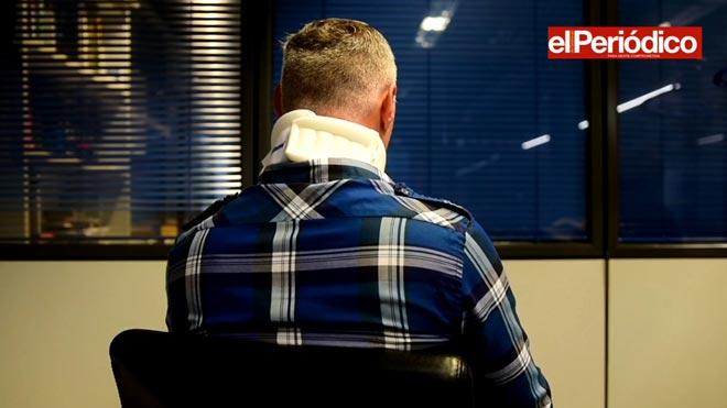 M.M. describe cómo fue agredido en Horta (Barcelona) durante la madrugada del miércoles al jueves.