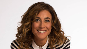 Helena Garcia Melero, presentadora de La Marató de TV-3 del 2017.