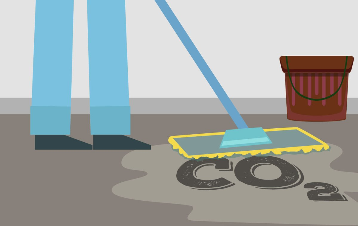 Además de dejar de ensuciar, habrá que limpiar el CO2