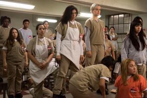 Imagen de la cuarta temporada de Orange is the new black.