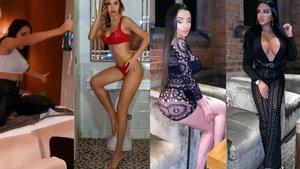 Imágenes de las modelos invitadas a la fiesta del Manchester City.