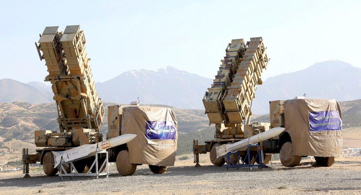 Nuevo sistema de misiles de defensa aérea de Irán.