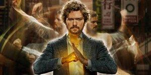 El protagonista de Iron Fist, Finn Jones, en una imagen promocional de la serie de Netflix.