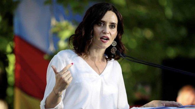 """Díaz Ayuso acusa al Gobierno de """"atacar"""" a Madrid tras el anuncio de Montero"""