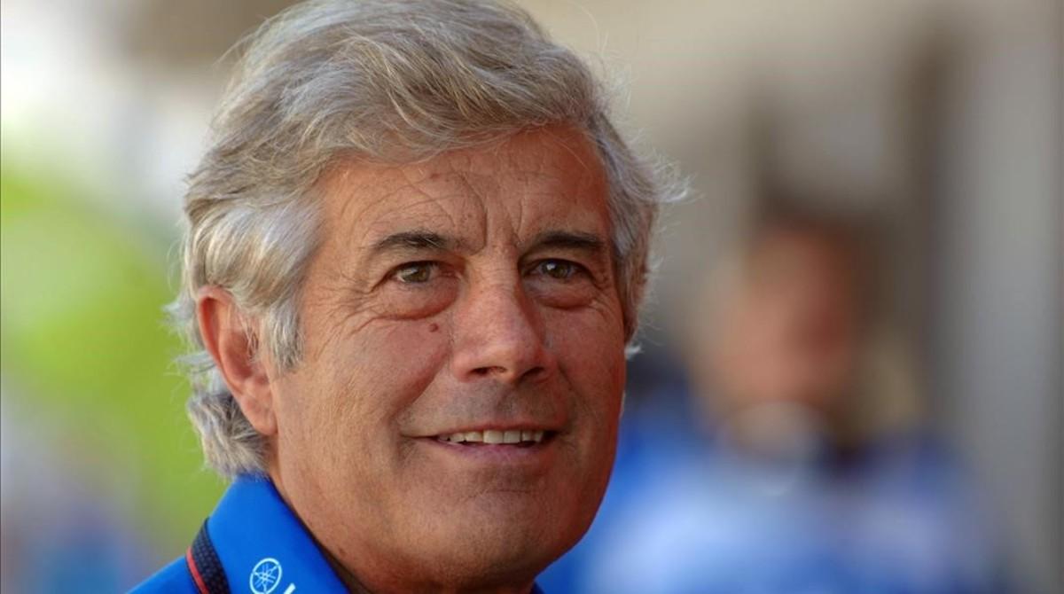 El italiano Giacomo Agostini, 15 veces campeón del mundo de motociclismo.
