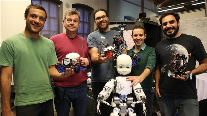 Un robot con el cerebro de una rata