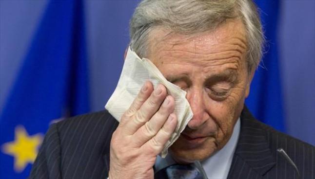 Jean-Claude Juncker, durante una conferencia de prensa en Bruselas.