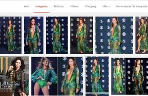 El vestit Versace de Jennifer Lopez en els Grammy va provocar la creació de Google Imatges.