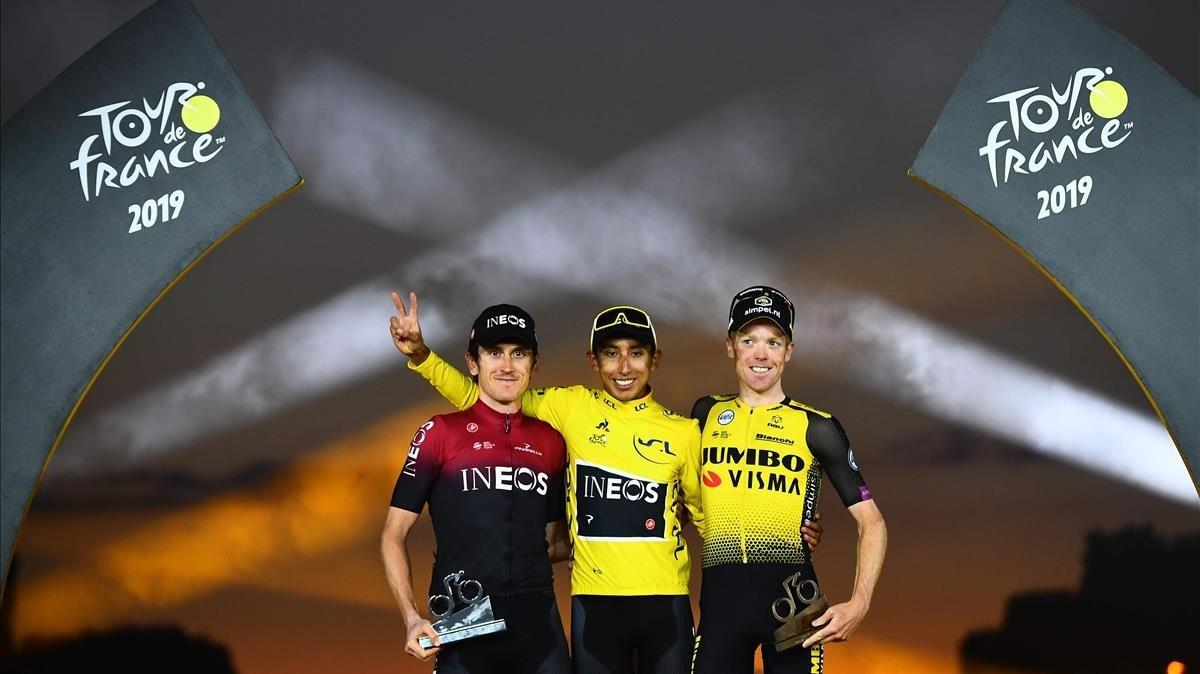 Bernal guanya el Tour d'Alaphilippe