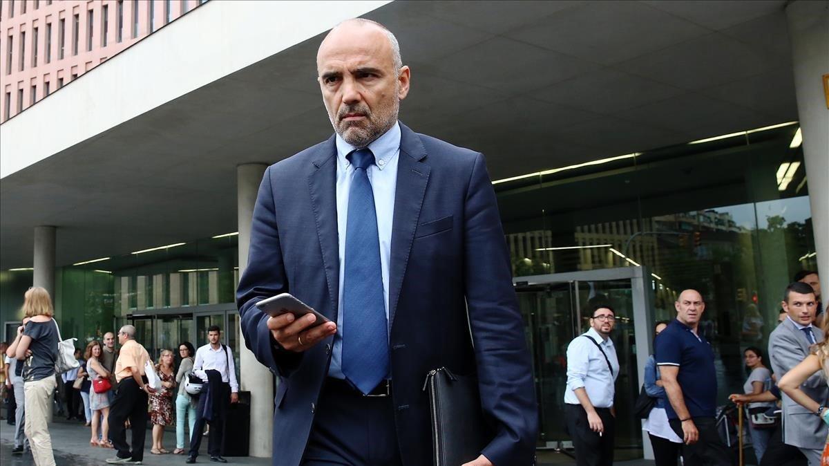 Joan Lluís Quer, expresidente de Infraestructures de la Generalitat