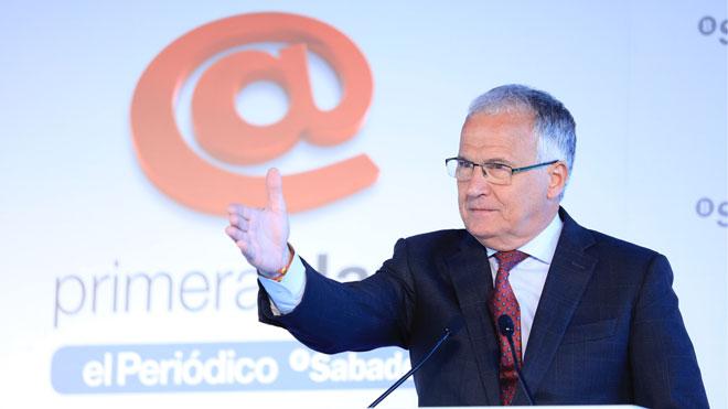 Josep Bou ha participado en el coloquio Primera Plan@