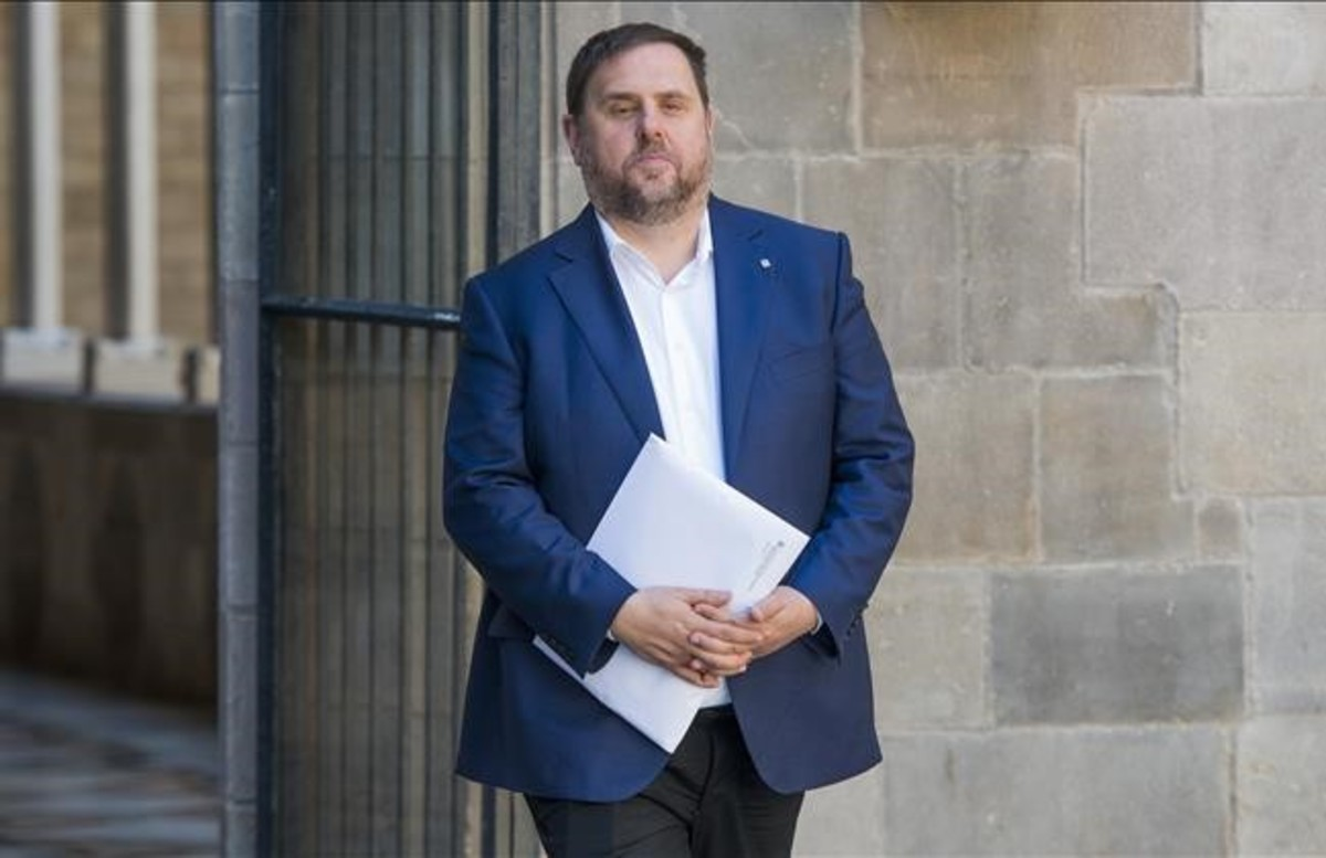 El vicepresidente del Govern, Oriol Junqueras.