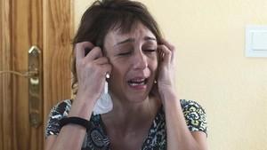 Juana Rivas, la madre de los dos niños que tienen que ser entregados a su padre, condenado por maltratos.