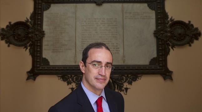 L'escriptor i regidor Antoni Vives.