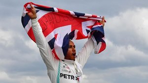 Lewis Hamilton celebró, el pasado año, su sexta victoria en Silverstone.