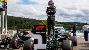 Lewis Hamilton (Mercedes) suma una nueva victoria en el GP de Bélgica
