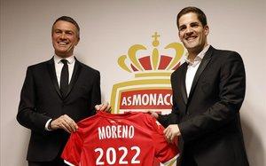 Robert Moreno debuta amb el Mònaco empatant contra el PSG (3-3)