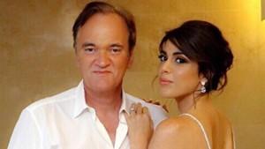 Quentin Tarantino y Daniella Pick.