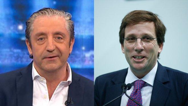 """Almeida pide a Pedrerol ir a 'El chiringuito' tras su balonazo viral y él le invita: """"Qué menos"""""""