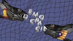 La palabra 'democracia'