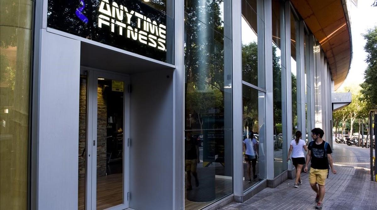 El gimnasio Anytime Fitness de Sarrià.