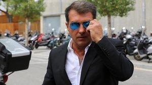 Laporta: «Em fan sospitar que volen vendre Messi»