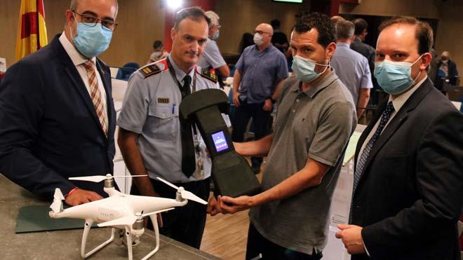 Els Mossos blindaran l'espai aeri amb cúpules virtuals detectores de drons